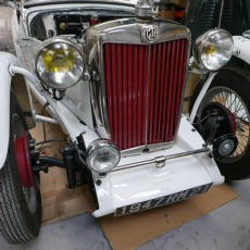 MG TC ROADSTER RACE CAR