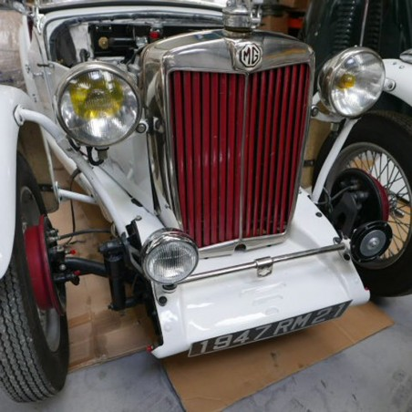 MG TC -RACECAR - Roadster 1350cc - XPAG 1947
