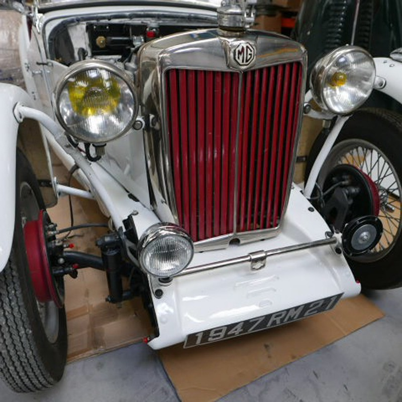 MG TC-RACECAR - ロードスター1350cc - XPAG1947