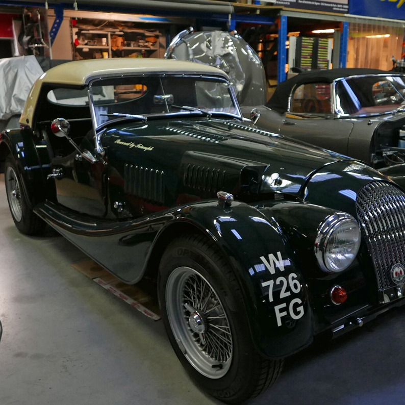 MORGAN RESTORATION +4 SS FIA