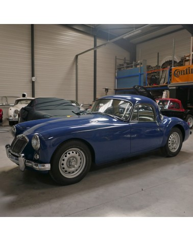 RESTAURATION MGA TWIN CAM COUPE